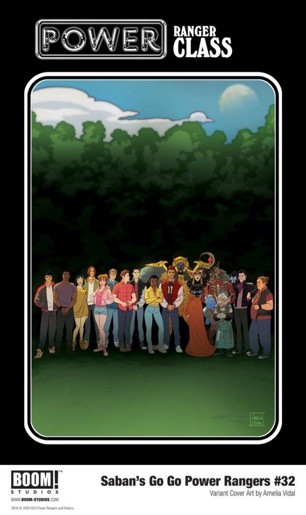 Go Go Power Rangers #32 Variant Cover #1