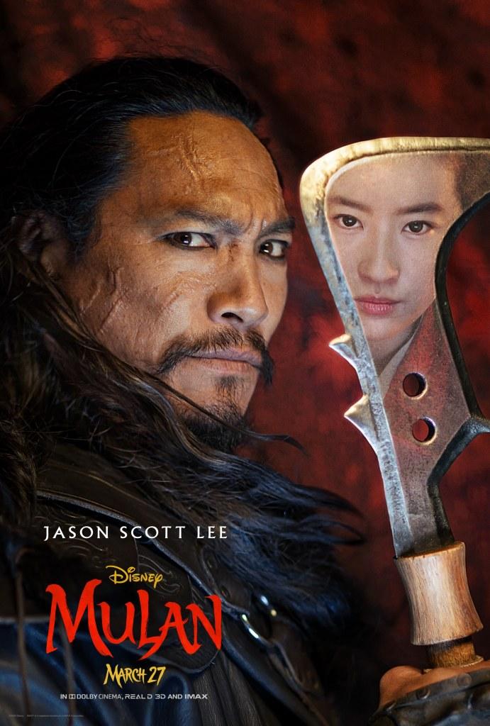 Mulan Character Poster - Bori Khan