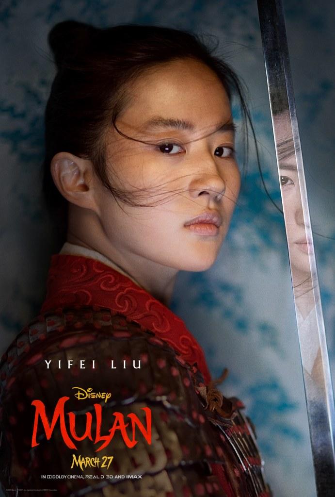 Mulan Character Poster - Mulan