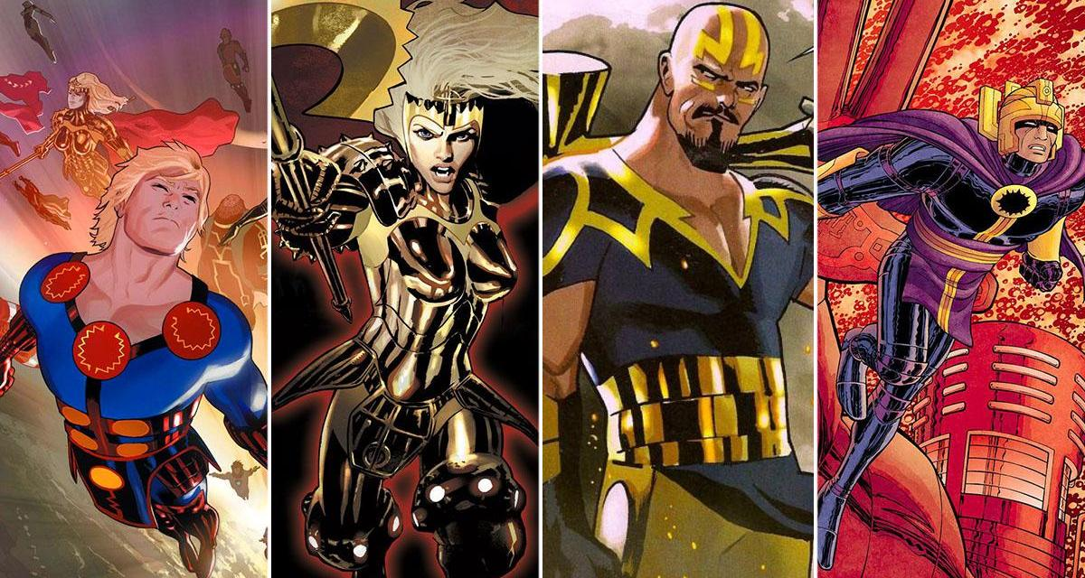 Eternals Delights Marvel Fans With New Set Photos