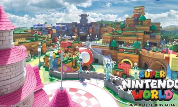 Nintendo and Universal Japan Announce 'Super NINTENDO World' Theme Park