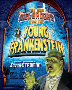 Young Frankenstein Musical Poster
