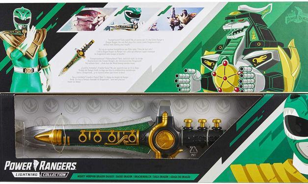 Power Rangers Green Dragon Dagger Available For Pre-Order