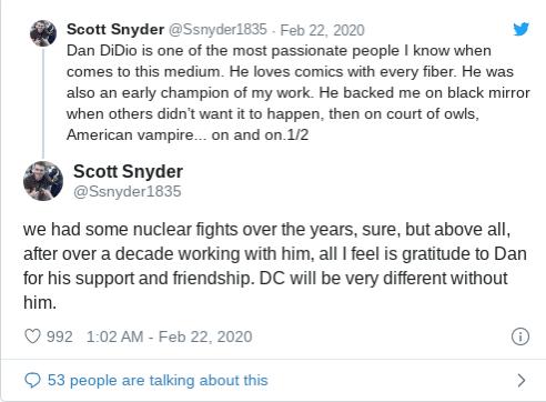 New Reported Behind-The-Scenes Details Of Dan DiDio's Firing from DC Comics Divulged - The Illuminerdi