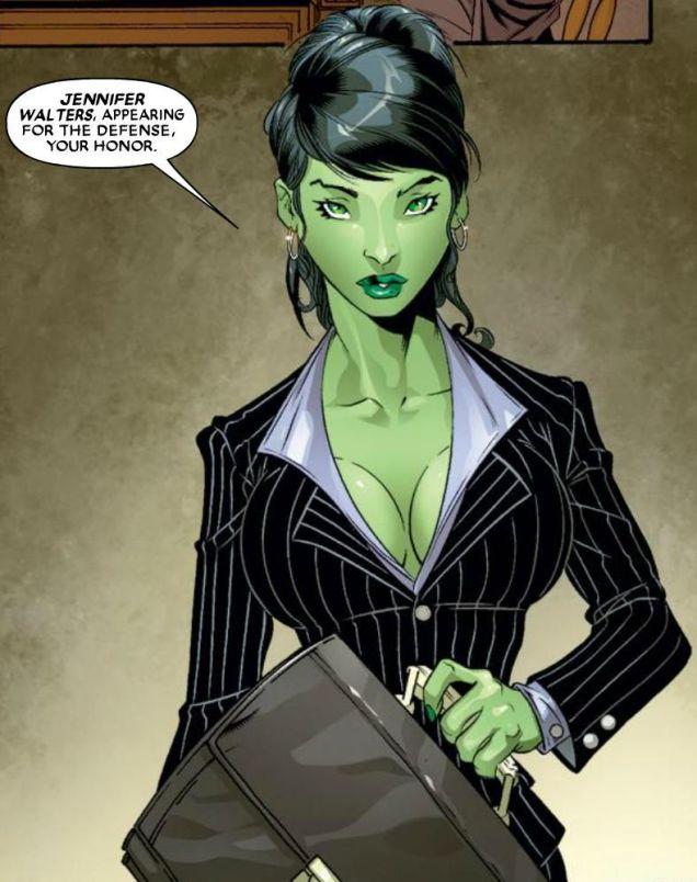 She-Hulk Jennifer Walters Lawyer