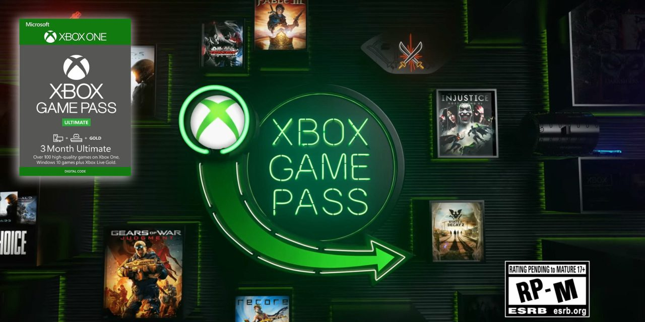 Xbox Game Pass Ultimate 3-Month Card On Sale