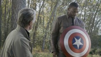 Avengers: Endgame Old Man Steve Anthony Mackie Sebastian Stan