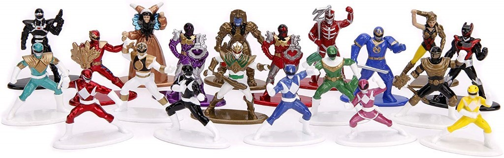 power rangers Jada Toys collection