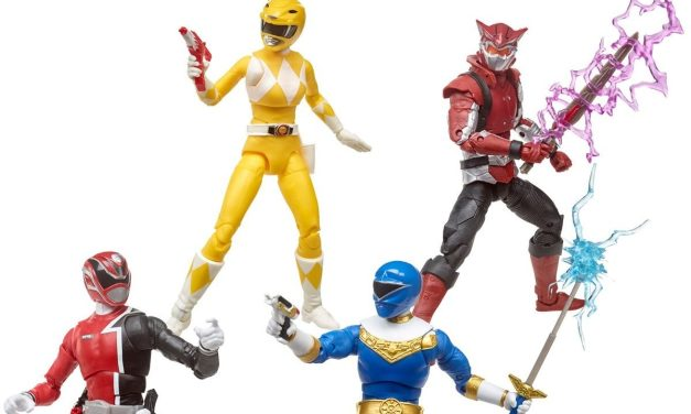 New wave of lightning collection Power Rangers Coming Soon