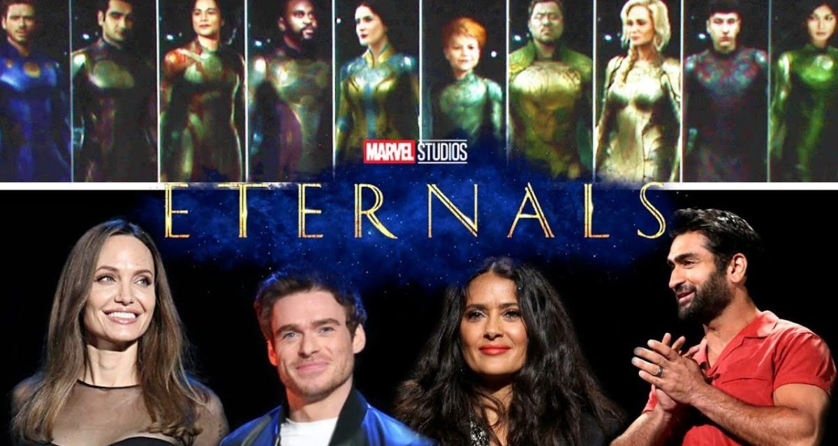 The Eternals Film Reveals A Strange New Logo