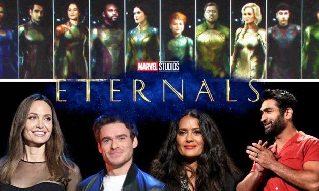 The Eternals Film Reveals A Strange New Logo