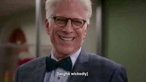 Michael on The Good Place