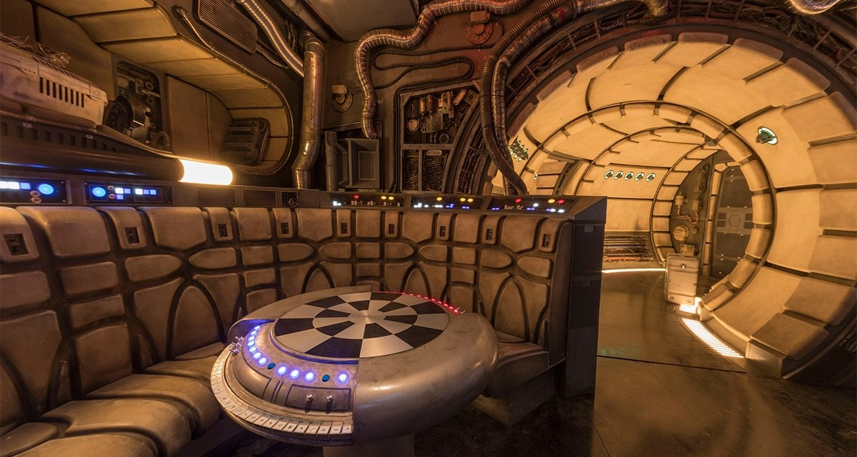 Millennium Falcon At Star Wars: Galaxy's Edge Has A Secret Chewie Mode