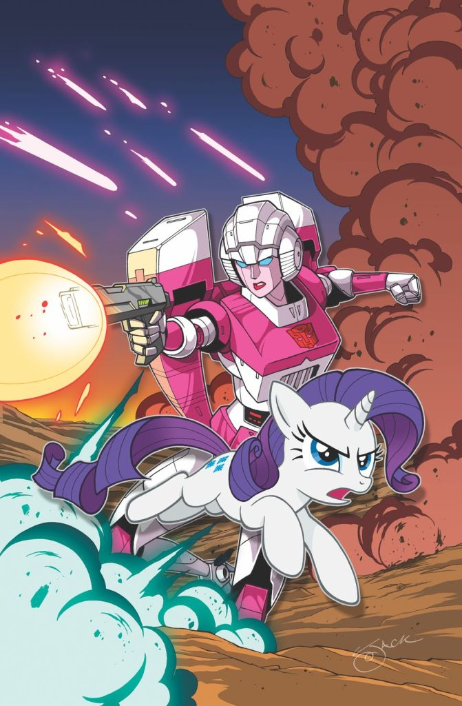 my little pony and transformers cover