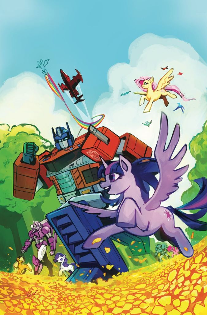 my little pony meets transformers