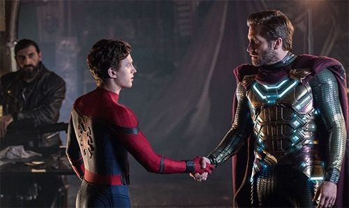 mysterio and peter parker
