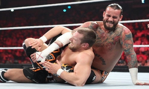 WWE CM Punk vs Daniel Bryan