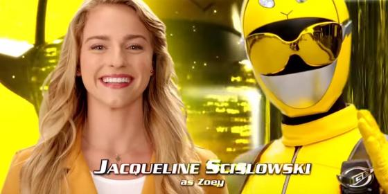 Zoey Yellow Ranger