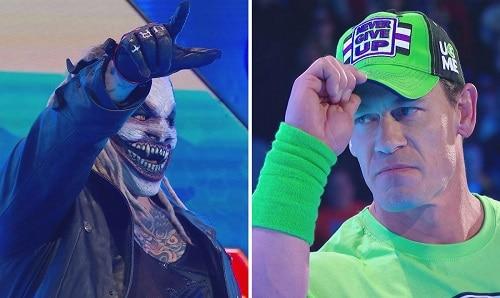 WWE Fiend vs John Cena Smackdown Live