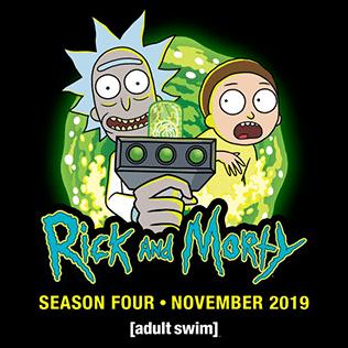 Rick and Morty Season 4 Samurai & Shogun