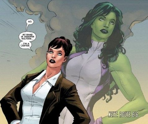 She-Hulk Lawyer Jennifer Walters