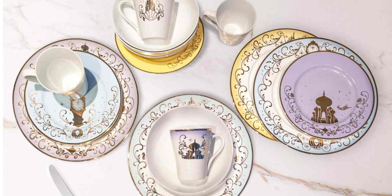 Toynk Disney Dinner Set Brings Magic to Your Kitchen