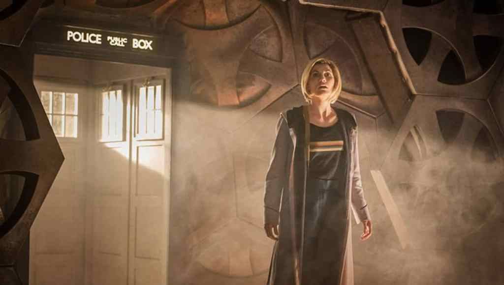 Doctor Who in Tardis