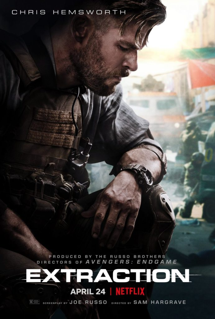 Russo Brothers Share The Poster For Chris Hemsworth's Extraction Movie - The Illuminerdi