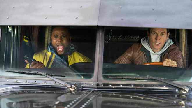 mark wahlberg and winston duke in spenser confidential