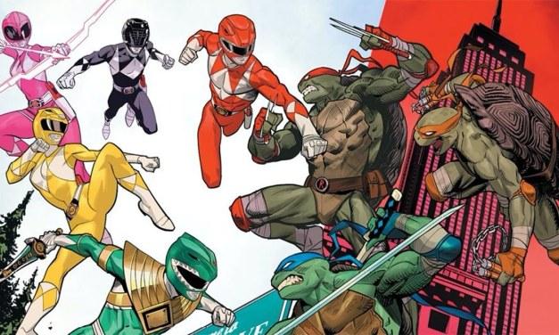 Mighty Morphin' Power Rangers/Teenage Mutant Ninja Turtles #4 Review