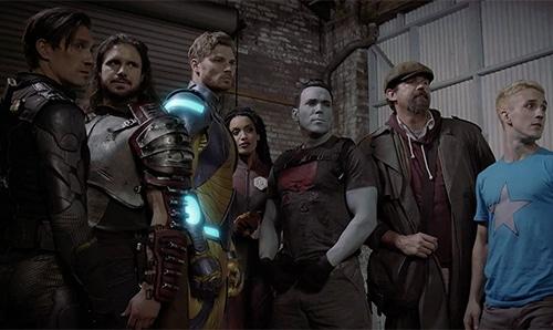 ninjak vs the valiant universe cast