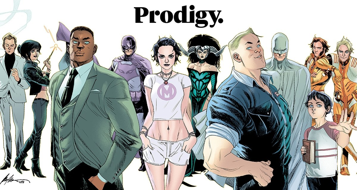 Mark Millar's Prodigy Reportedly Set for Netflix Release with Eternals Writers On Board