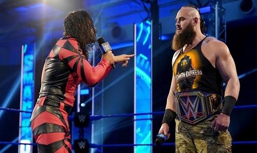 WWE Shinsuke Nakamura And Braun Strowman