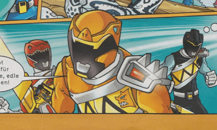 Previously Unknown Dino Charge Orange Ranger Uncovered in a German Magazine