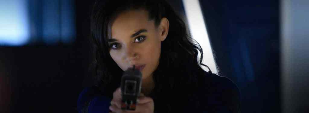 Hannah John-Kamen in Killjoys Resident Evil