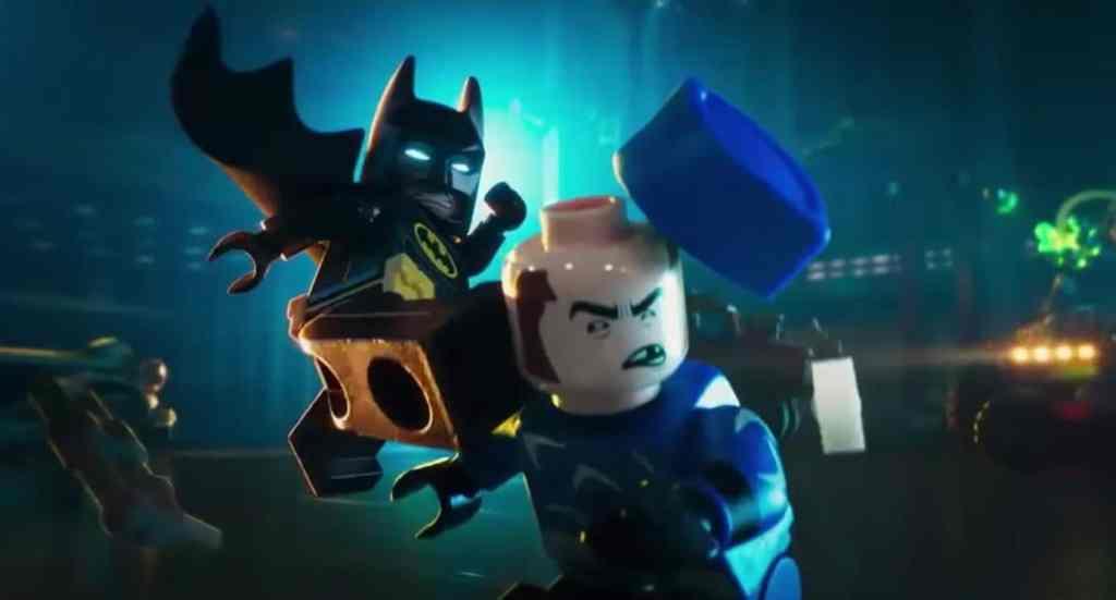 LEGO Batman Kick