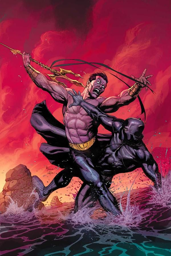 Namor vs Black Panther