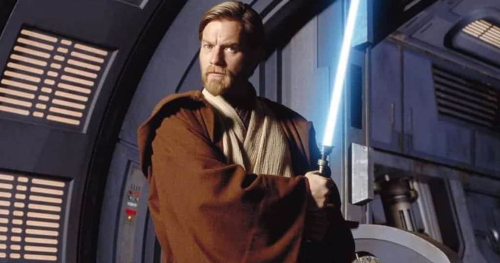 Ewan McGregor as Obi Wan Kenobi Attack of the Clones