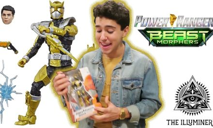 Power Rangers Beast Morphers Abraham Rodriguez Reacts To His Lightning Collection Action Figure