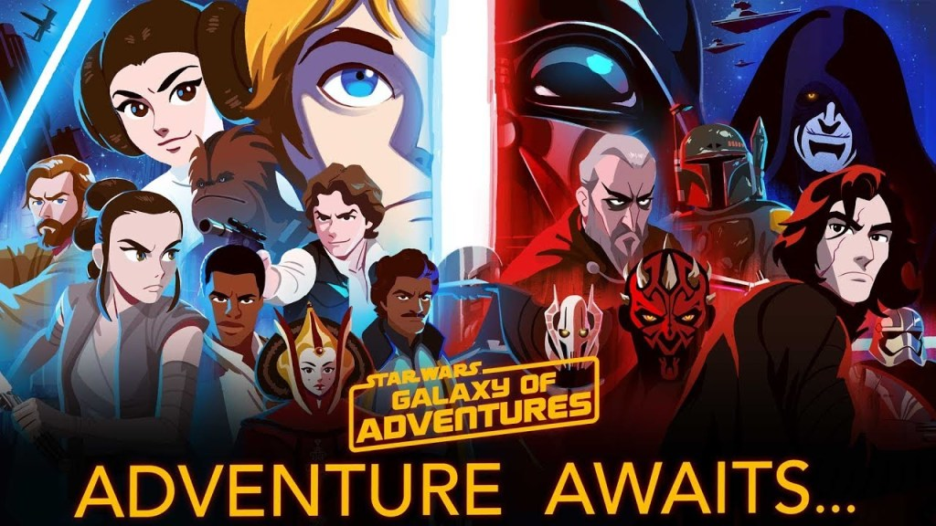 Galaxy of Adventures characters