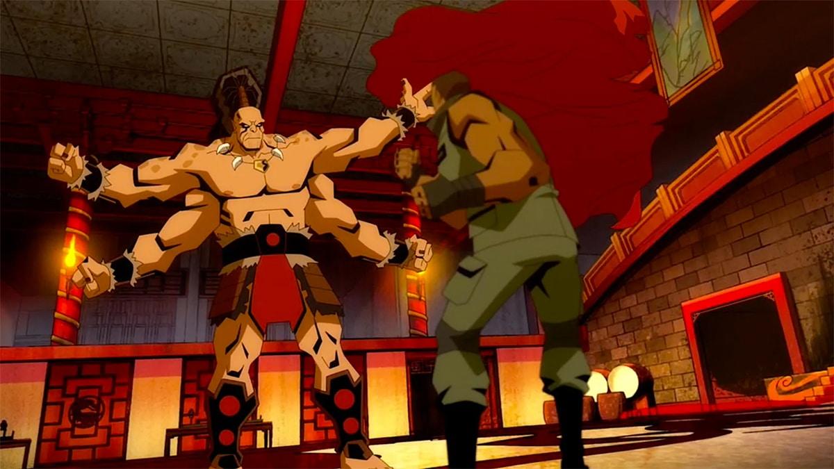 Mortal Kombat Legends Scorpion S Revenge Unveils First Clip