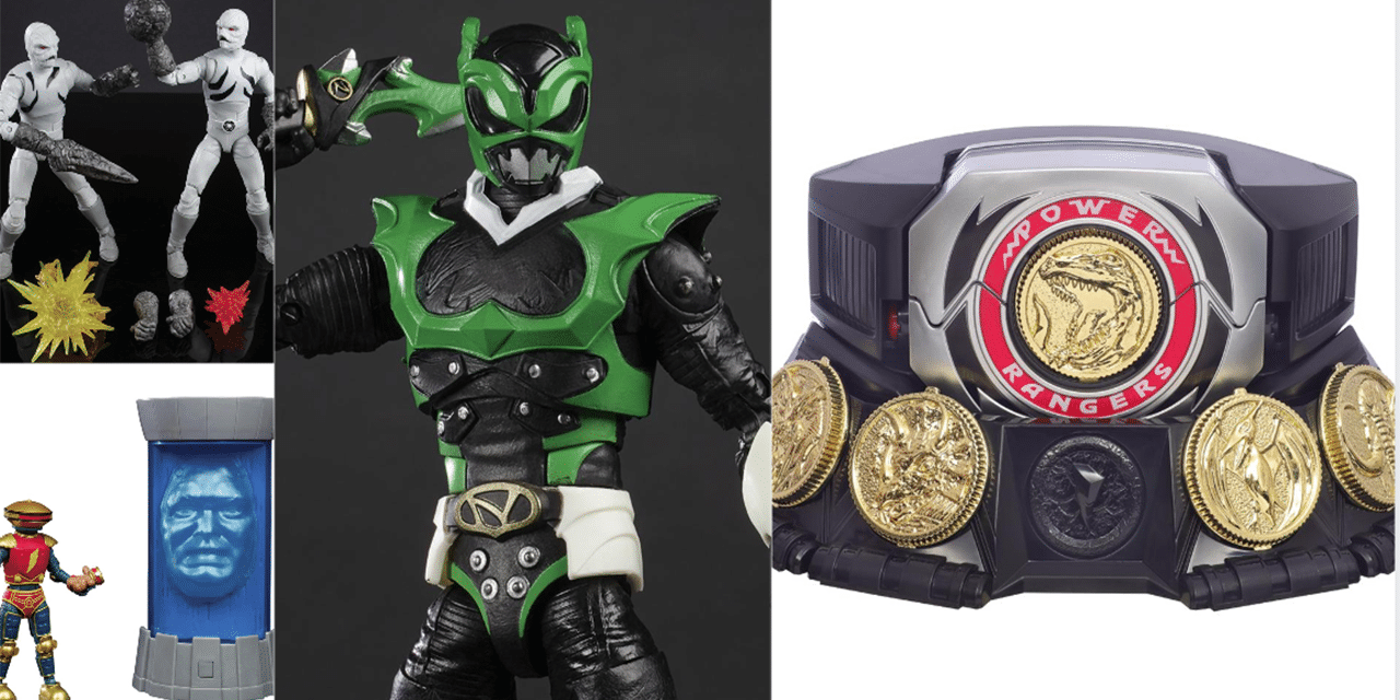 BREAKING: New Power Rangers Lightning Collection Figures and Collectibles Revealed