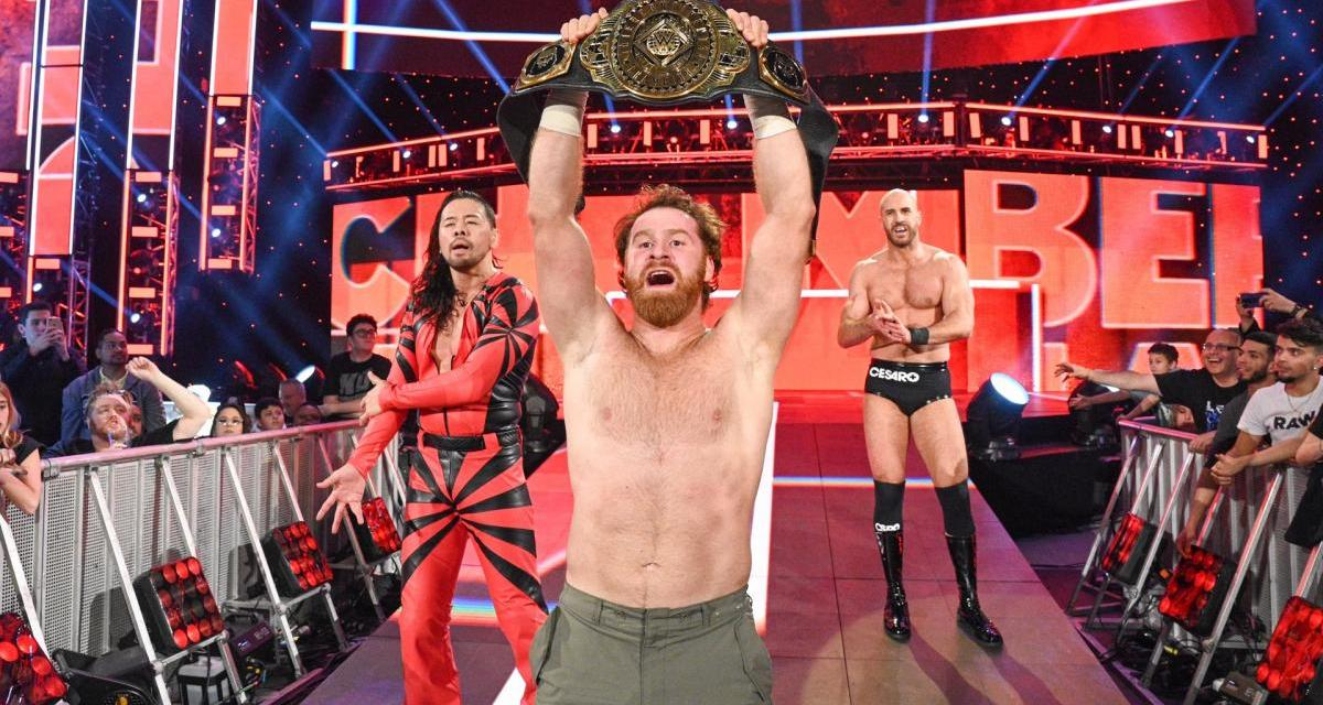 WWE Wrestler Sami Zayn Suddenly Stripped Of Intercontinental Championship