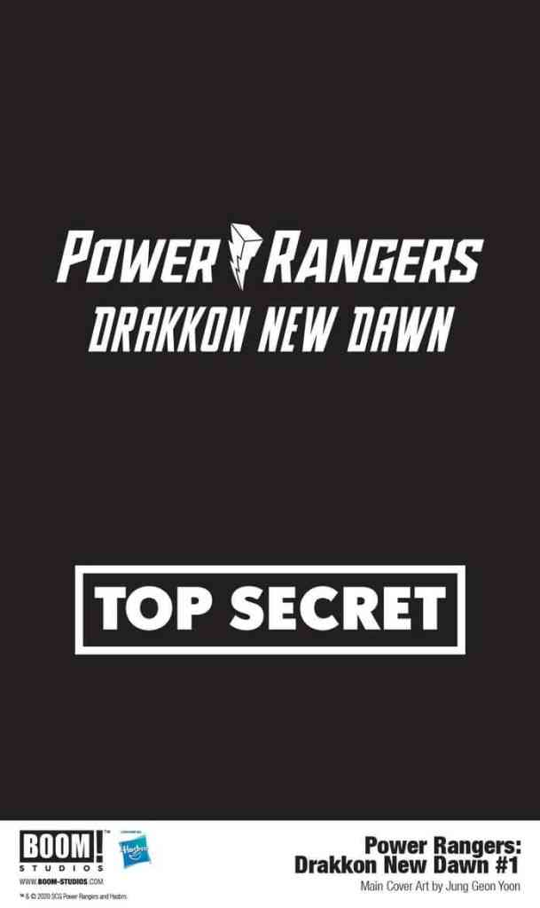 Power Rangers Drakkon New Dawn Top Secret