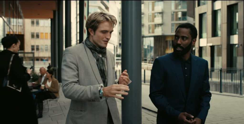 Tenet John David Washington Robert Pattinson Christopher Nolan?