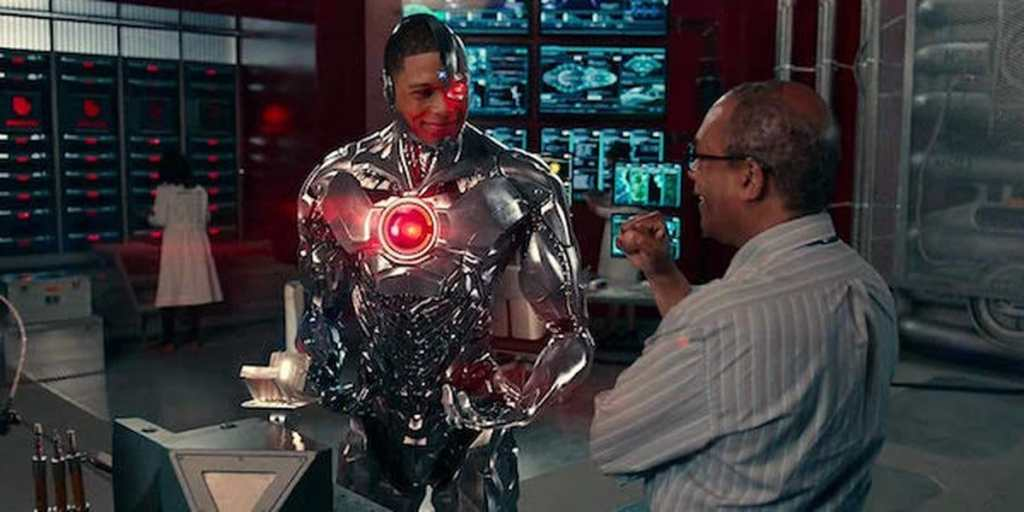 Cyborg Doctor Stone Victor Stone Ray Fisher