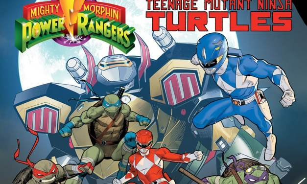 MIGHTY MORPHIN' POWER RANGERS/TEENAGE MUTANT NINJA TURTLES #5 REVIEW