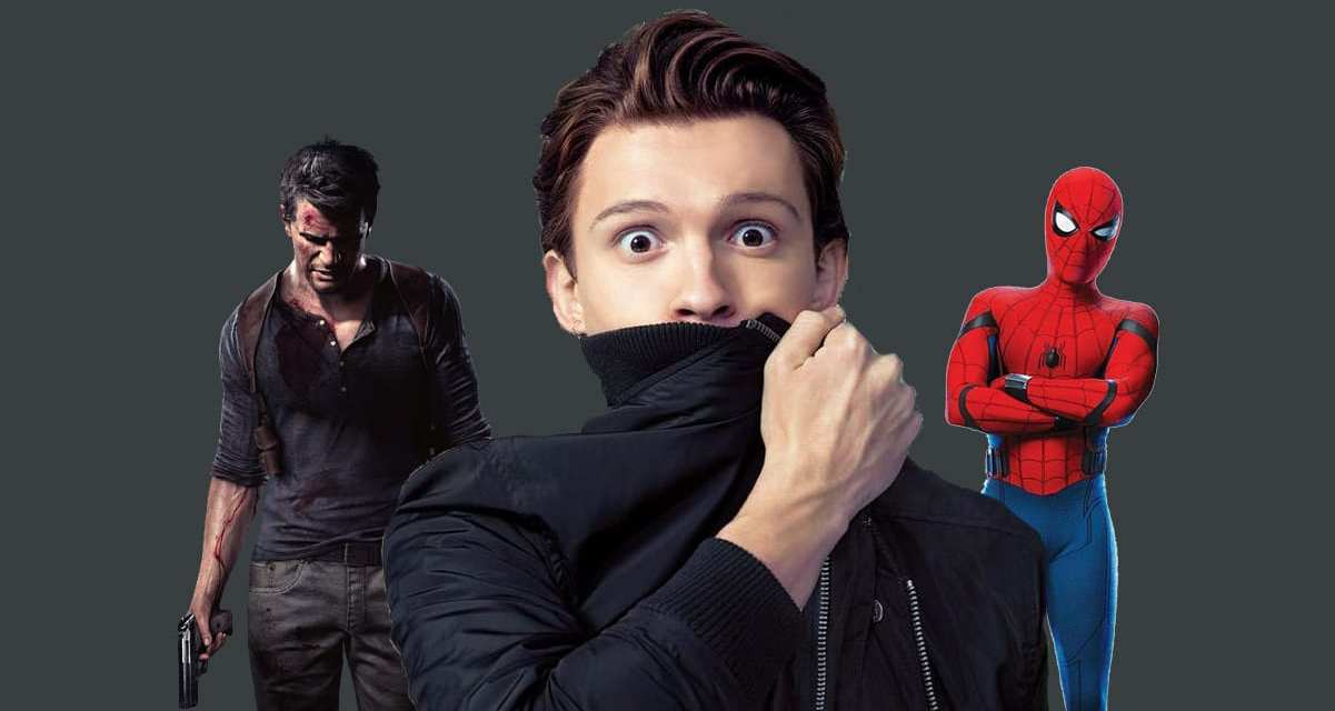 Tom Holland Rumored To Shoot Uncharted and Spider-Man 3 Back To Back