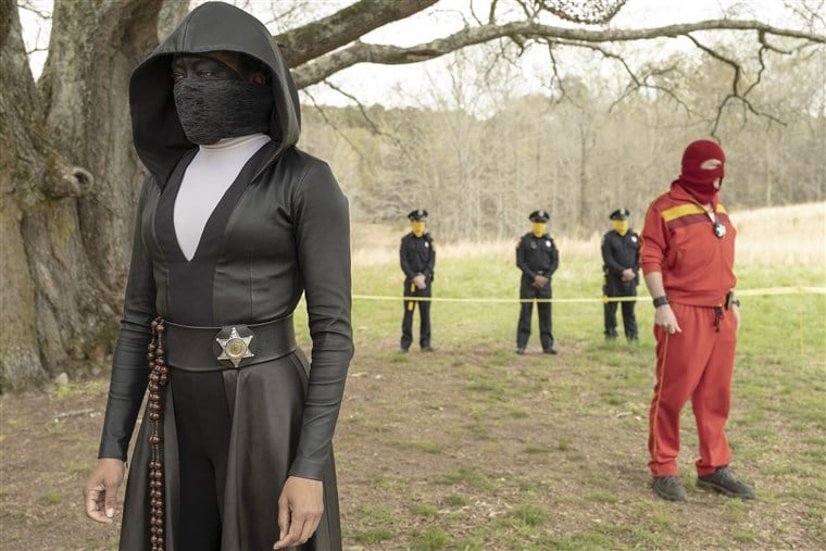 Watchmen Sister Night Red Scare