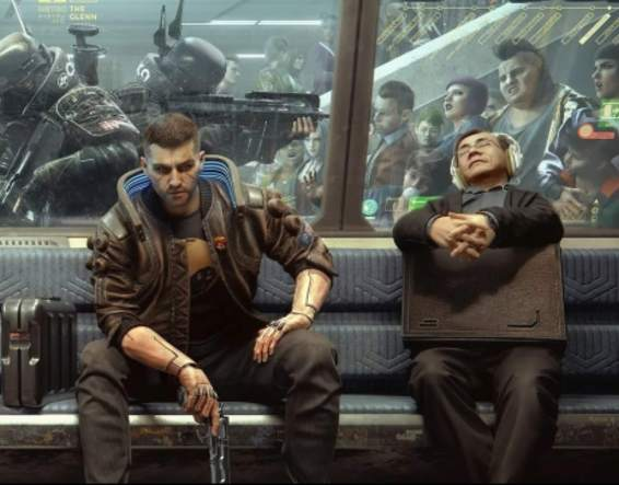 cyberpunk 2077 screencap